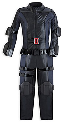 Disney Marvel Girls Black Widow Costume, Size 4