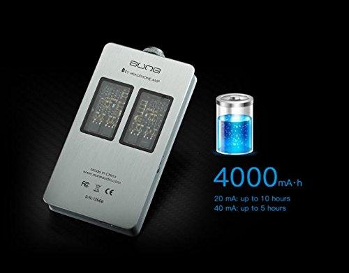 Aune B1s Headphone Amplifier (Silver)