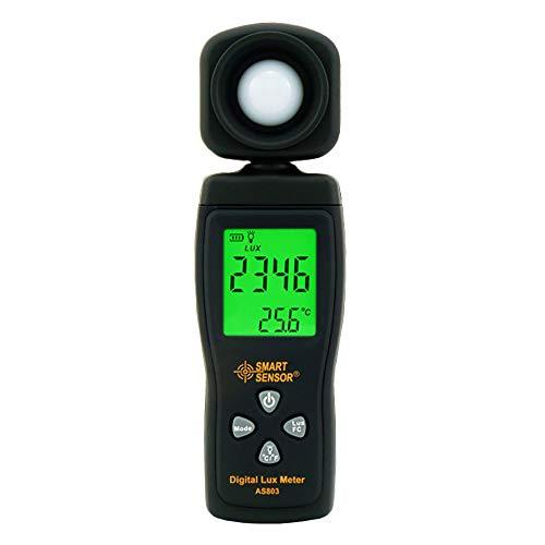 Lux Light Meter for Photography Grow Plants Led Photometer Lighting Intensity Brightness Measurement Pocket Digital Photo Illuminance Sensor