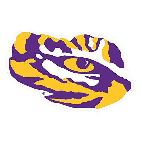 LSU Tigers, Large Tiger Eye, Premium Decal, CORNHOLE