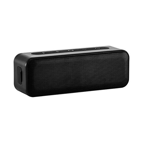 AmazonBasics 15-Watt Bluetooth Stereo Speaker with Water Resistant Design - Black