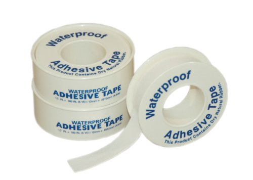 First Aid Only 8-050 First Aid Adhesive Tape, 5 yds Length x 1/2 Width