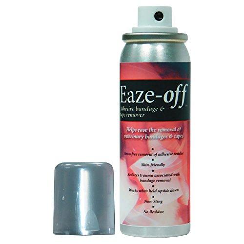 Mill Pledge Eaze-Off Adhesive Bandage Tape Remover 50ml Non Toxic Non Stinging