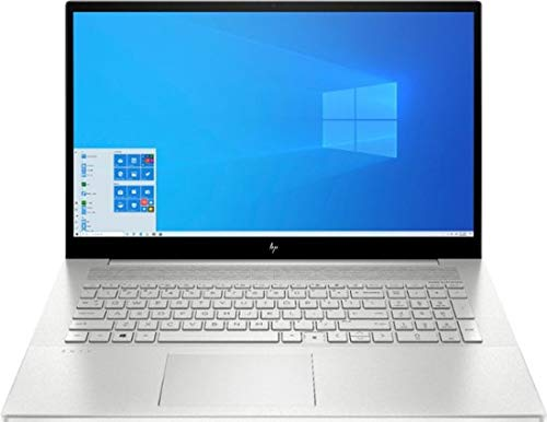 Newest HP Envy 17t Touch(10th Gen Intel i7-1065G7, 1TB PCI NVMe SSD, 16GB DDR4, NVIDIA GeForce 4GB GDDR5, Windows 10 Professional, 3 Years McAfee Security Key) Bang & Olufsen 17.3' Laptop PC