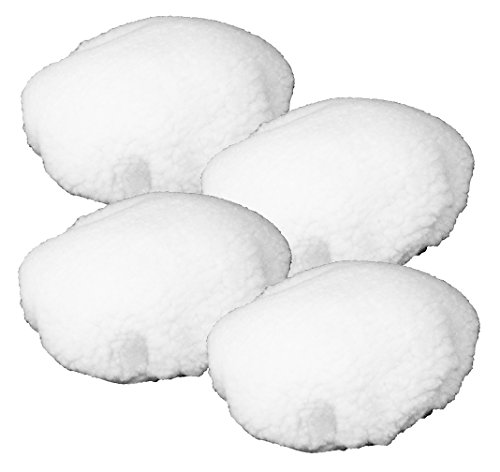 Black and Decker WP900 Polisher (4 Pack) OEM Replacement Wool Bonnet # 580753-01-4PK