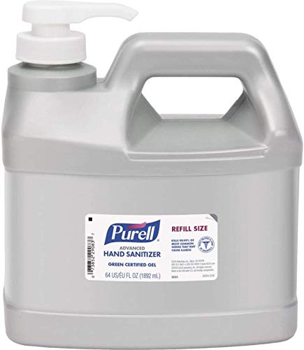 Purell Unscented Gel Hand Sanitizer