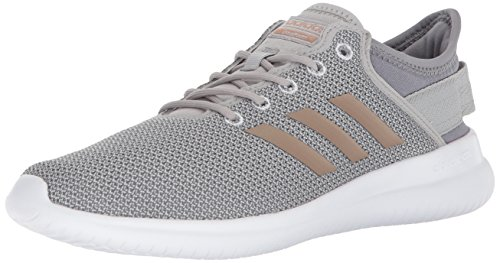 adidas Women's Cloudfoam QT Flex Sneakers, Grey Two/Vapour Grey/Grey Three, 7.5 M US