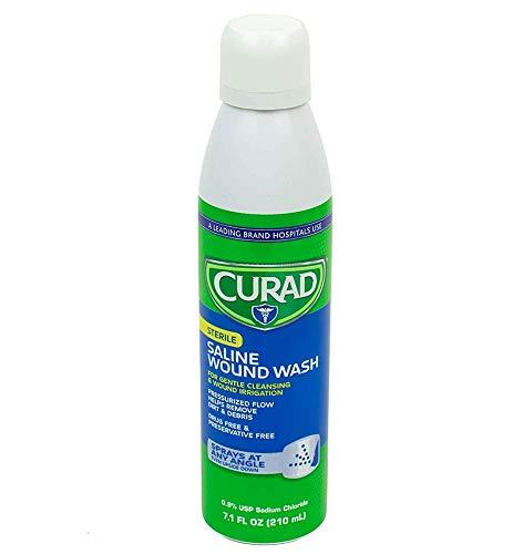 Curad 25224 Sterile Saline Wound Wash