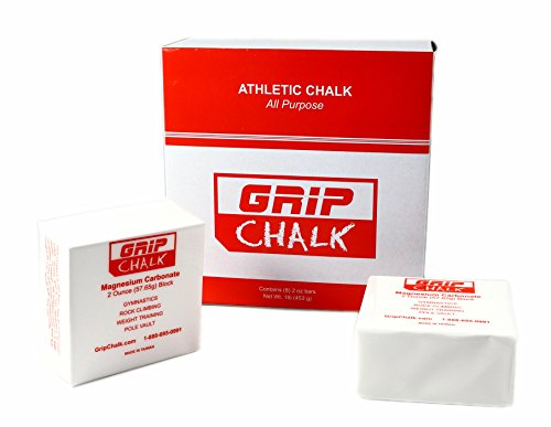 FAZ BRAND Grip Gym Chalk Gymnastics, Rock Climbing, Power Lifting, Crossfit No Slip, No Moisture Chalk (1)