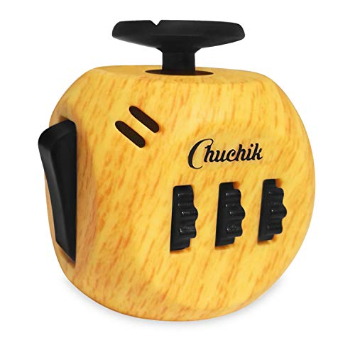 CHUCHIK Fidget Cube Toys. Prime Desk Toy, Reduce Anxiety and Stress Relief for Autism, Add, ADHD & OCD