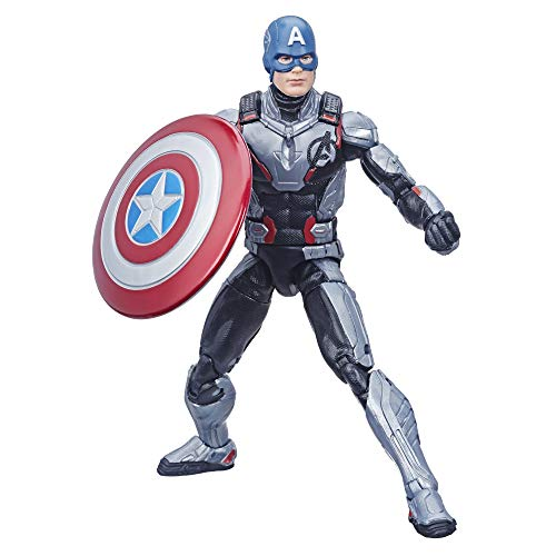 Avengers Hasbro Marvel Legends Series Endgame 6' Captain America Marvel Cinematic Universe Collectible Fan Figure