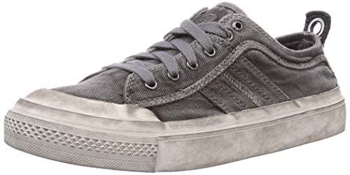 Diesel Men's Fashion Sneaker, Gunmetal, 10.5