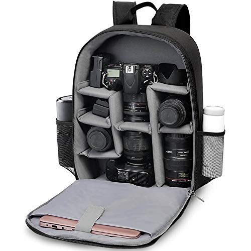 CADeN DSLR SLR Camera Bag Backpack for Mirrorless Cameras/Photographers, Professional Camera Case Backpack Compatible with Nikon Canon Sony Lens Tripod Accessories Photography Men Women