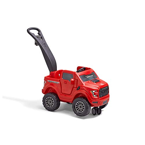 Step2 2-in-1 Ford F-150 Raptor   Kids Ride On Push Car   Red (483600)