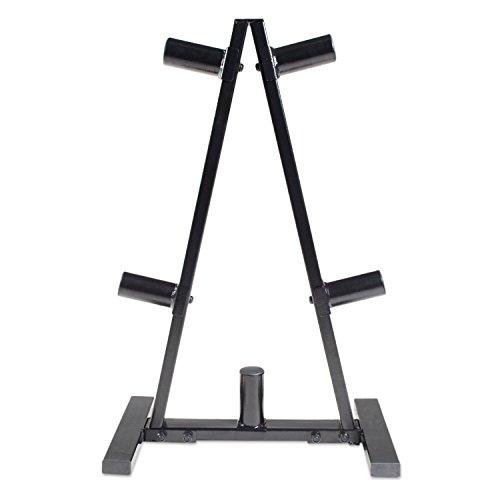 CAP Barbell A Frame Olympic Plate Rack, Dark Gray