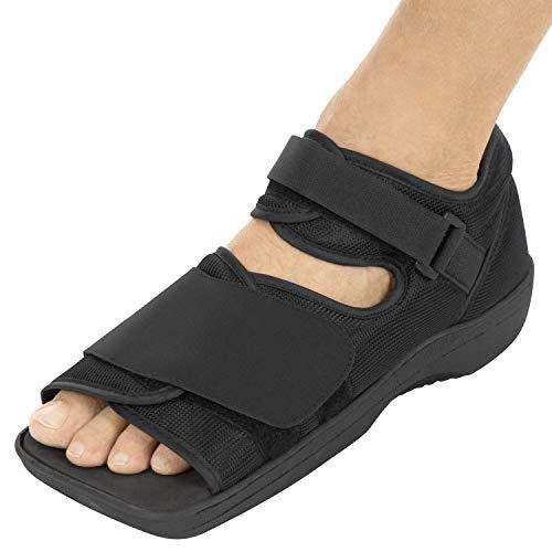 Vive Post Op Shoe - Lightweight Medical Walking Boot with Adjustable Strap (Small: Men's (6 - 7) Women's (7 -8))