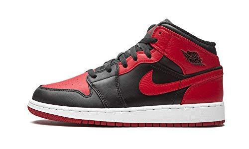 Nike Youth Air Jordan 1 Mid GS 554725 074 Jordan 1 Mid Banned 2020 - Size 6.5Y