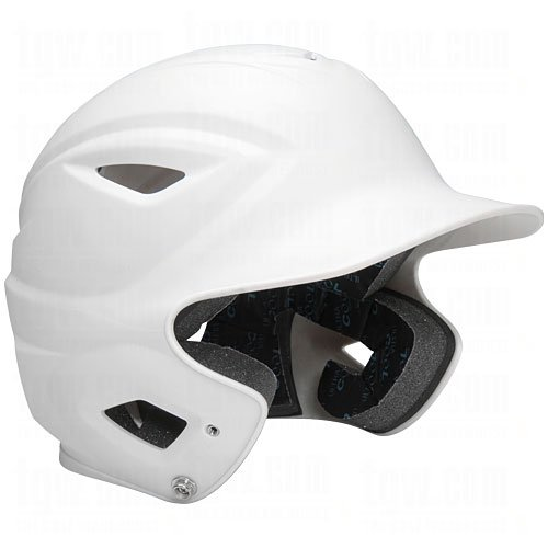 All-Star Adult System 7 OSFA Matte Batting Helmets White 6 1/2-3/4