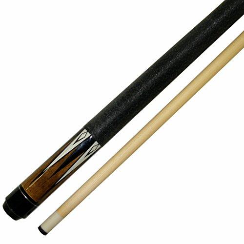 Iszy Billiards BND-01-48-19 Short 48' 2Piece Hardwood Maple Pool Cue Billiard Stick 19 Oz, Brown
