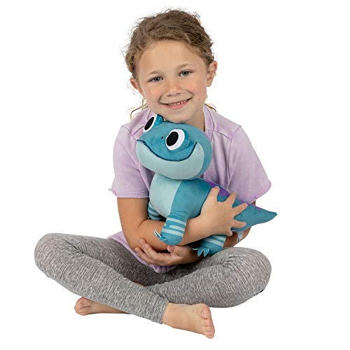 Franco Kids Bedding Super Soft Plush Cuddle Pillow Buddy, One Size, Disney Frozen 2 Salamander
