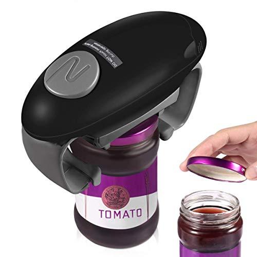 Electric Jar Opener, Restaurant Automatic Jar Opener for Seniors with Arthritis, Hands Free Bottle Opener