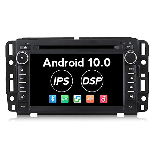 Android 10.0 Car Stereo 7 inch 2G RAM Car Radio for GMC Chevy Silverado Radio IPS DSP Touch Screen PX30 Car Multimedia Navigation Support DVD Bluetooth WiFi Map Updata