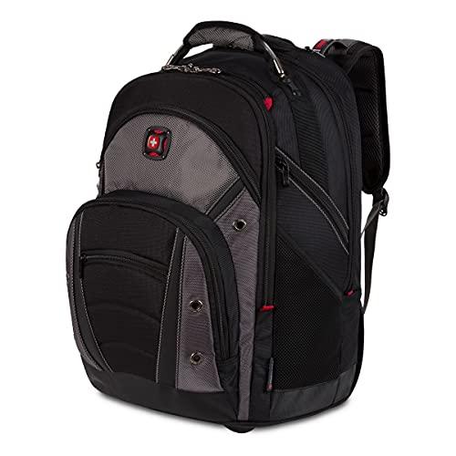 Wenger Luggage Synergy 18-Inch, Black/Grey, 16