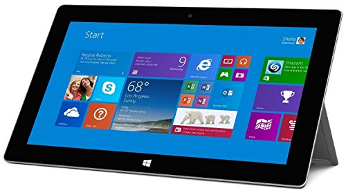 2018 Microsoft Surface 2 Tablet 10.6in 1080P LCD Touchscreen Laptop Computer, 2GB RAM, 32GB SSD, Front and Rear Camera Office RT 2013 Included-recondition, Windows RT 8.1 (Renewed)