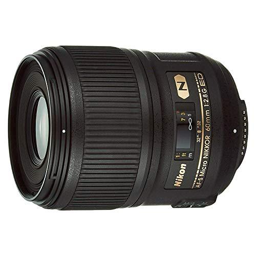 Nikon AF-S FX Micro-NIKKOR 2177 60mm f/2.8G ED Standard Macro Lens for Nikon DSLR Cameras