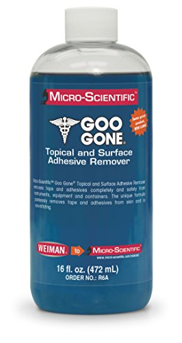 Micro-Scientific - R6A Goo Gone Topical Adhesive Remover for Skin - Bandage & Surface Adhesive Remover for Healthcare/Medical Application