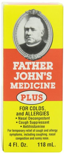Father John's Cough Medicine Plus, 4 Ounces
