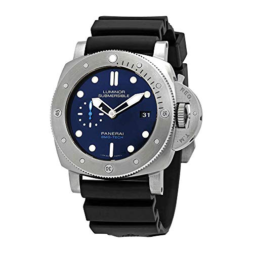Panerai Submersible BMG-TECH Automatic Blue Dial Men's Watch PAM00692