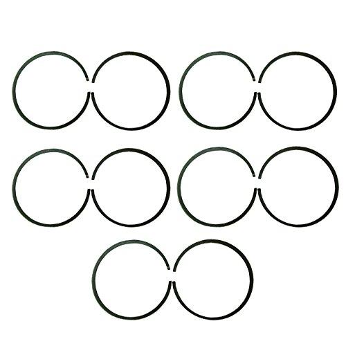 JRL 10x47mm Piston Rings for 66cc 80cc Engine Motorised Bicycle Bike