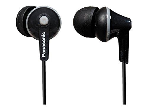 Panasonic RP-HJE125-K Headphones, Black