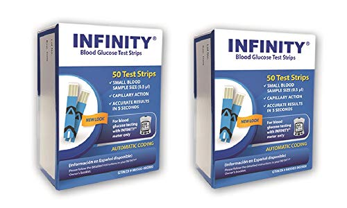 Infinity Test Strips - 100 ct.