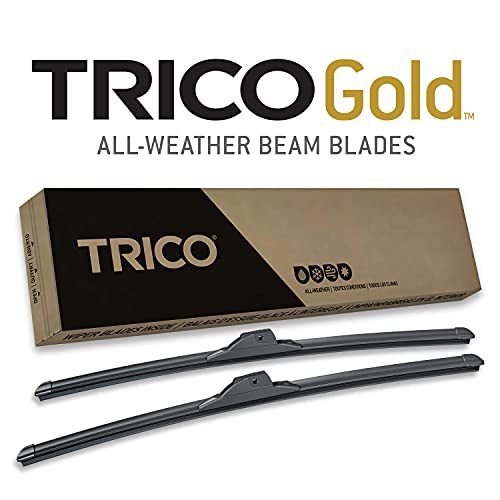 TRICO Gold 26 and 16 Inch Pack of 2 Windshield Wiper Blades For Car (18-2616)