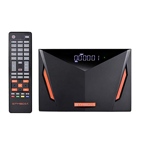 [2021 Newest] Vlogdeals GTMEDIA V8 UHD FTA Satellite Receiver,4K Display Dual-core 4Gb RAM,Built-in WiFi Ethernet, Full PowerVE Biss Key autobiss Cccam,DVB t2 s2x,USB PVR Ready,V8 Pro2 Upgrade