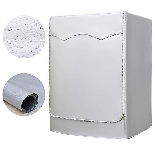 AKEfit Washing Machine Cover, Waterproof and Dustproof Washer Dryer Cover for Front Loading H39 D33 W27 inch
