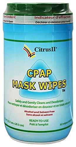 Citrus Magic CPAP Mask Cleaner Wipes 62 ct