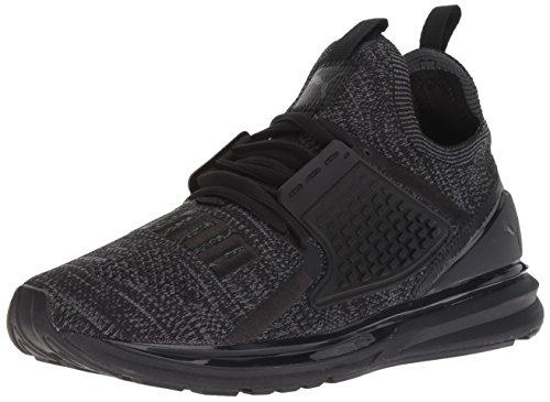PUMA Men's Ignite Limitless 2 Evoknit Sneaker, Black-Iron gate, 11 M US