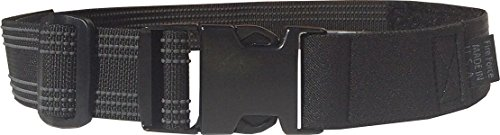 Fire Force Tactical Leg Strap with Military Side Release Buckle Made in USA (Black)
