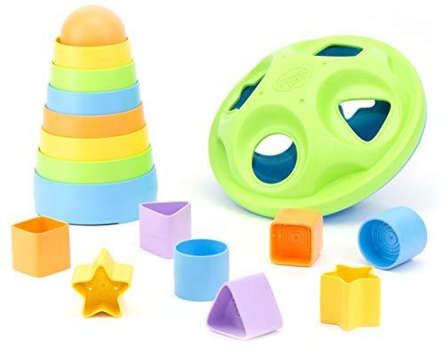 Green Toys Stacker & Shape Sorter Set