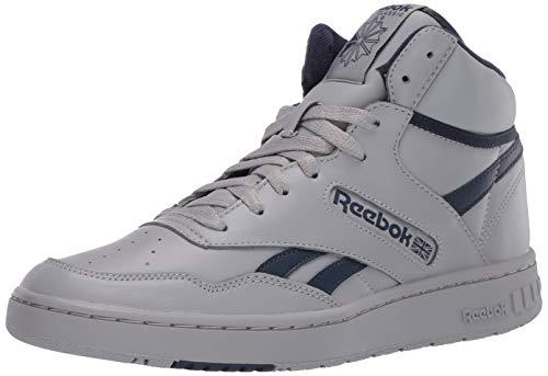 Reebok BB 4600 Sneaker, tin Grey/Collegiate Navy/tin Grey, 11 M US