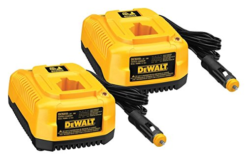 DeWalt 2 Pack DC9319 7.2-to-18V 1-Hr Vehicle Charger # 649174-00-2PK