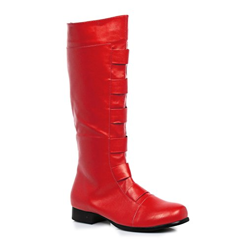Ellie Shoes Men's 1' Heel Knee High Boots(Sizes) S RED