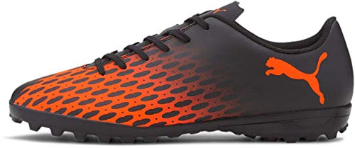PUMA Mens Puma Spirit Iii Tt Puma Black-Shocking Orange, 9