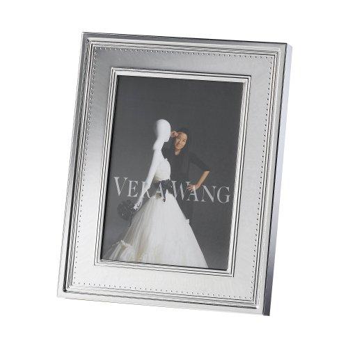 Vera Wang Wedgwood Grosgrain 5-Inch by 7-Inch Frame