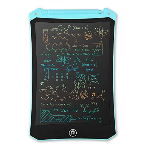 LCD Writing Tablet, Electronic Digital Writing &Colorful Screen Doodle Board, cimetech 8.5-Inch Handwriting Paper Drawing Tablet Gift for Kids and Adults at Home,School and Office (Blue)