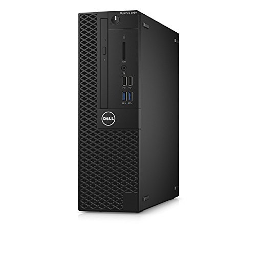 Dell Optiplex Small form factor (SFF) Business Desktop PC, Intel i5-7500 Quad-Core 3.4 GHz Processor, 512GB SSD, 8GB DDR4, Ethernet, USB 3.0, DVD±RW, Display Port/HDMI, Win 10 Pro, With Keyboard+Mouse