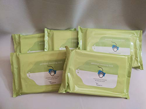 Cardinal Health Personal Cleansing Cloths Adult Wipes Incontinence Cleaning 12 pack of 16 wipes